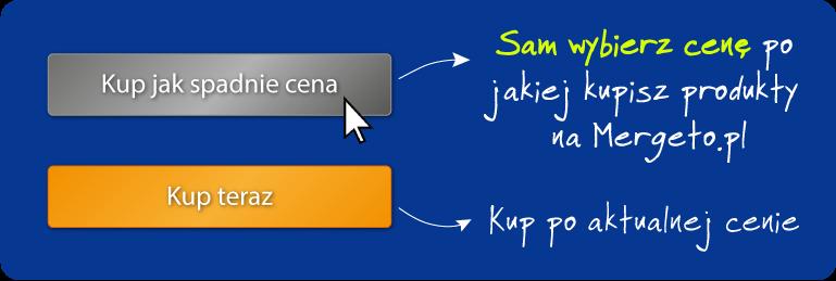 Sam wybierz cenę po jakiej kupisz produkty na Mergeto.pl
