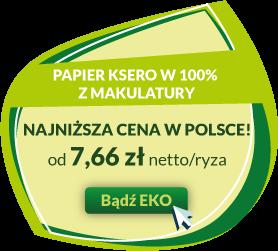 najtańszy papier ekologiczny